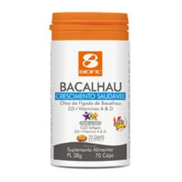 Biofil Kids Bacalhau 70 cápsulas