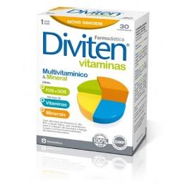Diviten Vitaminas 30 comprimidos