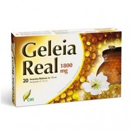 Geleia Real 1800mg 20 Ampolas