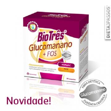 BioTrês Glucomanano + FOS