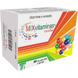 MIX Vitaminas Tecnilor 60 comprimidos