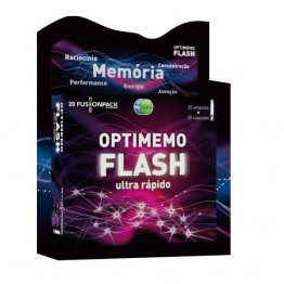 Optimemo Flash 20 Ampolas+20 Cápsulas