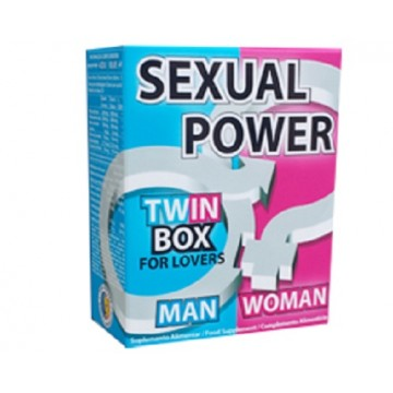 Sexual Power Twin Box 60 comprimidos