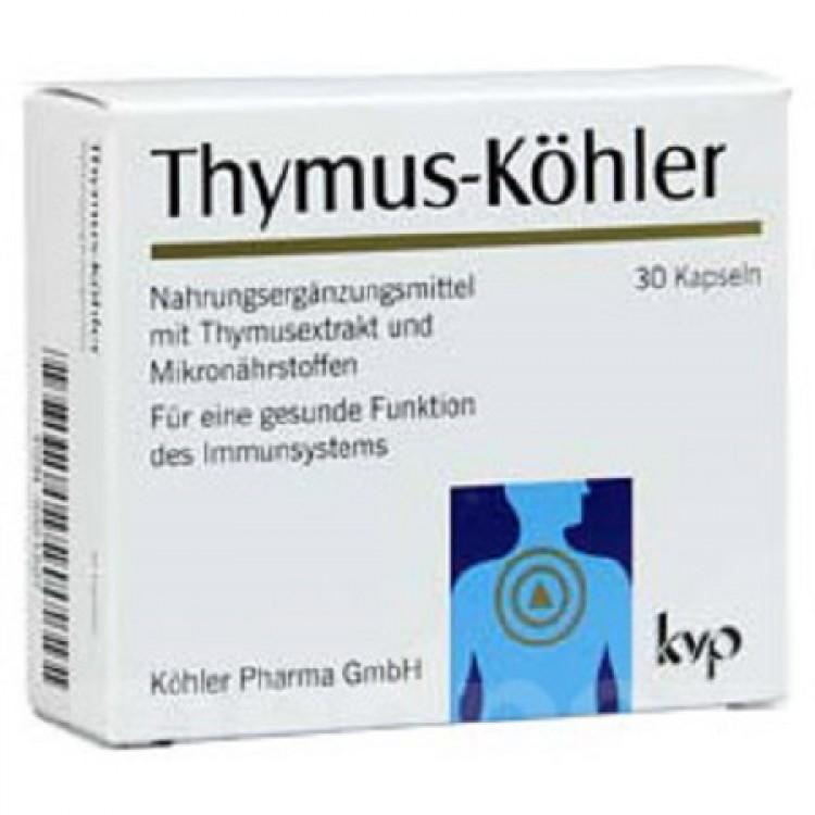 Thymus-Köhler 30 Cápsulas