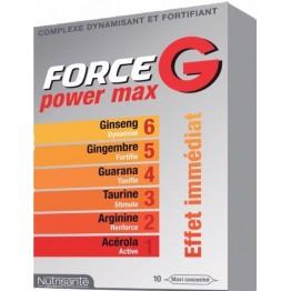 Force G power max 10 ampolas