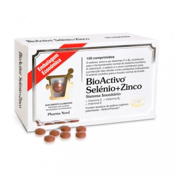 Bioactivo Selénio + Zinco 150 Comprimidos