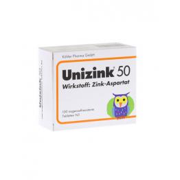 Unizink 50 100 Comprimidos
