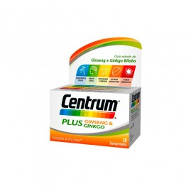 Centrum Plus Ginseng & Ginkgo 30 Comprimidos