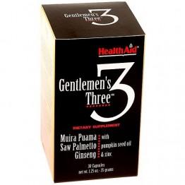 Gentlemen's 3  30 Cápsulas