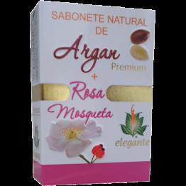 Elegante Sabonete de Argan + Rosa Mosqueta 140g