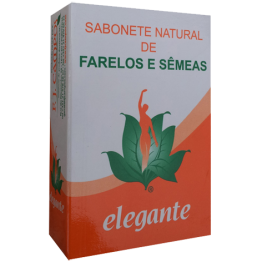 Elegante Sabonete Farelos e Sêmeas 140g