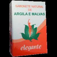 Elegante Sabonete Argila e Malvas 140g