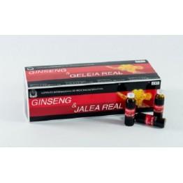 Ginseng e Geleia Real 30 ampolas