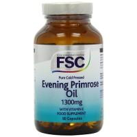 Evening Primrose Oil 1300 mg 60 Cápsulas FSC