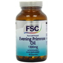 Evening Primrose Oil 1300 mg 60 Cápsulas FSC