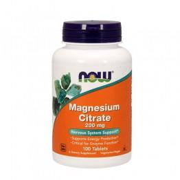 Magnesium Citrate 200mg 100 Comprimidos