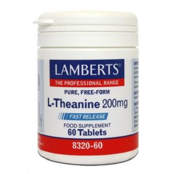 L-Theanine 200 mg 60 Comprimidos