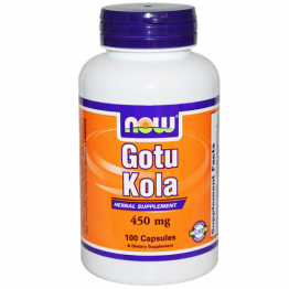 Gotu Kola 450 mg 100 Cápsulas Now