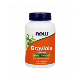 Graviola 500mg 100 Cápsulas Now