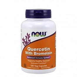 Quercetin With Bromelain 120 Cápsulas