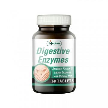 Lifeplan Digestive Enzymes 60 Comprimidos