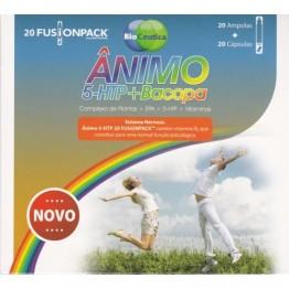 Ânimo 5-HTP + Bacopa 20 Ampolas + 20 Cápsulas