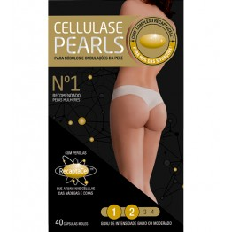 Cellulase Gold Pearls 40 Cápsulas