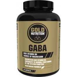 Gaba GoldNutrition 500mg 60 Cápsulas