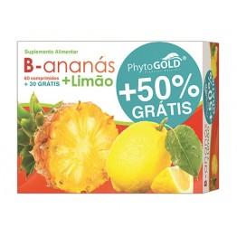 B-Ananás + Limão 60+30 Comprimidos