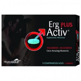 Erg Activ Plus 5 Comprimidos + 5 Grátis