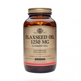 Flaxseed Oil 1250 mg 100 Cápsulas