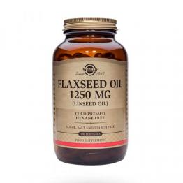 Flaxseed Oil 1250 mg 100 Cápsulas
