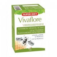 VivaFlore Carvão Vegetal Activado 45 Cápsulas