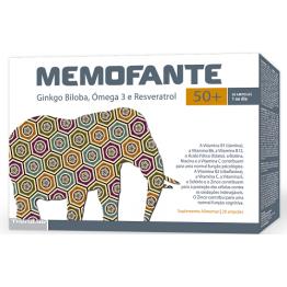 Memofante 50+ 20 Ampolas