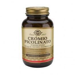 Picolinato de Crómio 200µg 90 Cápsulas