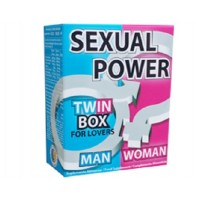 Sexual Power Twin Box 60 comprimidos